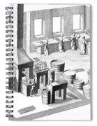 Metalworker, 18th Century Spiral Notebook