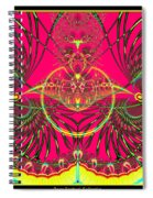 Metamorphosis  Emerging From The Cocoon Fractal 125 Spiral Notebook