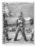 Mexican American War, 1846 Spiral Notebook