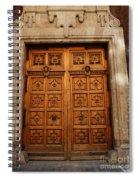 Mexican Door 10 Spiral Notebook