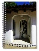 Mexican Door 14 Spiral Notebook