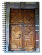 Mexican Door 29 Spiral Notebook