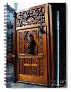 Mexican Door 3 Spiral Notebook
