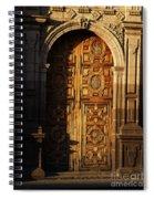 Mexican Door 31 Spiral Notebook