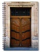 Mexican Door 33 Spiral Notebook