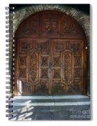 Mexican Door 47 Spiral Notebook