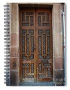 Mexican Door 54 Spiral Notebook