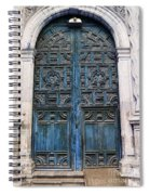 Mexican Door 6 Spiral Notebook