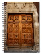 Mexican Door 67 Spiral Notebook