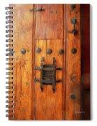 Mexican Door Decor 10  Spiral Notebook