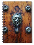 Mexican Door Decor 13  Spiral Notebook