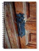 Mexican Door Decor 3  Spiral Notebook