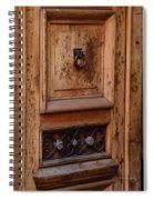 Mexican Door Decor 5  Spiral Notebook