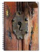 Mexican Door Decor 7   Spiral Notebook