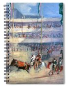 Mexico: Bullfight, 1833 Spiral Notebook