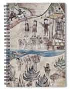 Mexico Indians C1500 Spiral Notebook