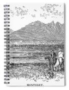 Mexico: Monterrey, C1846 Spiral Notebook