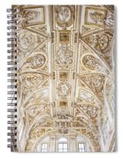 Mezquita Cathedral Ceiling Spiral Notebook