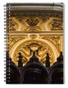 Mezquita Cathedral Choir Stalls Details Spiral Notebook