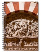 Mezquita Cathedral Religious Carving Spiral Notebook