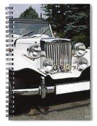 Mg Classic Car Spiral Notebook