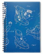 Michael Jackson Anti-gravity Shoe Patent Artwork Spiral Notebook