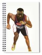 Michael Johnson Spiral Notebook