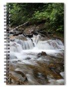 Michigan Waterfall Spiral Notebook