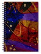 Mickey's Triptych - Cosmos IIi Spiral Notebook