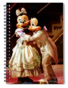 Micky And Minnie Mouse Skate Spiral Notebook