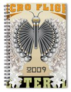 Micro Flight Butterfly Spiral Notebook