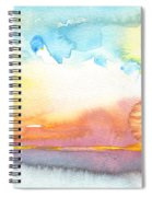 Midday 26 Spiral Notebook