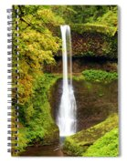 Middle North Falls Spiral Notebook
