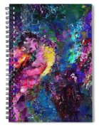 Midnight Kiss  Spiral Notebook