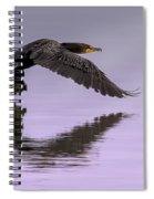 Midnight Run Spiral Notebook