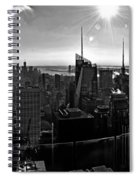 Midtown South Bw Spiral Notebook