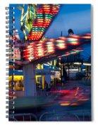 Midway Blur Spiral Notebook