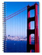 Mighty Golden Gate Spiral Notebook