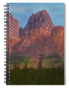 Mighty Mountains Spiral Notebook