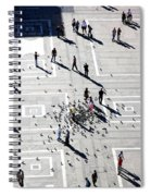 Milan Duomo Square Spiral Notebook