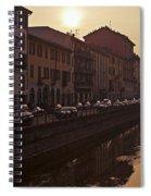 Milan Naviglio Grande Spiral Notebook