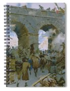 Milanese Chasing Out Austrians Spiral Notebook