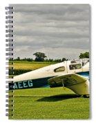 Miles M.3 Falcon Circa 1934 Spiral Notebook