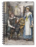 Miles Standish Spiral Notebook