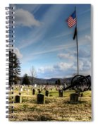 Military Honors Spiral Notebook