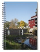 Mill Apartments Spiral Notebook