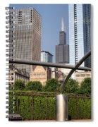 Millenium Park - 1 Spiral Notebook