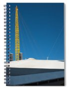 Millennium Dome London Spiral Notebook