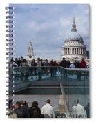 Millennium Footbridge Spiral Notebook