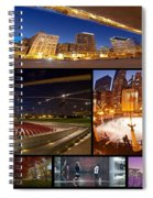 Millennium Park Photo Collage Spiral Notebook